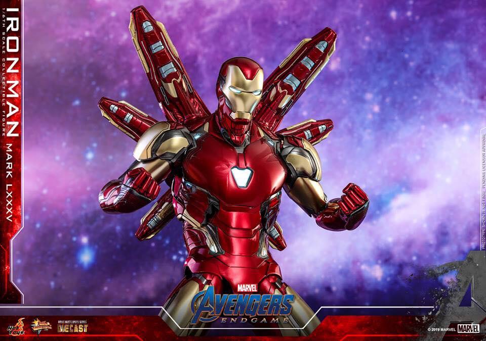 HOT TOYS  Iron Man Mark LXXXV (Avengers Endgame)  (5)