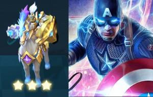 Chess Rush hero Avenger 9